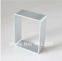 wholesale-  Christmas cookie cutter  rectangle aluminum cookie molds  small Musi circle pineapple cake sushi rice
