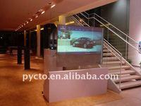 Проекционный экран Hot sale! Dark grey color Holographic window film, Holographic screen factory supply best price sales
