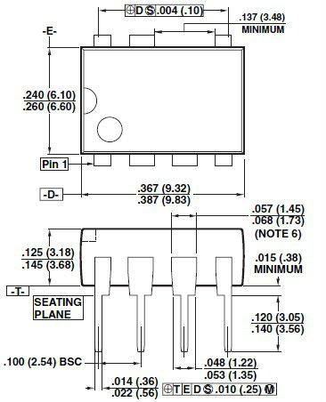Tny268p dip-8 власти