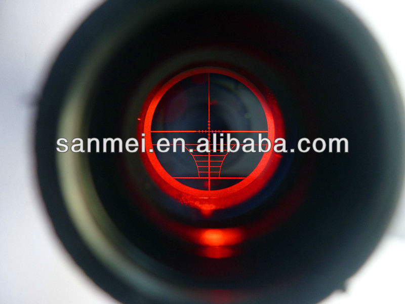 3-9X40 riflescope laser