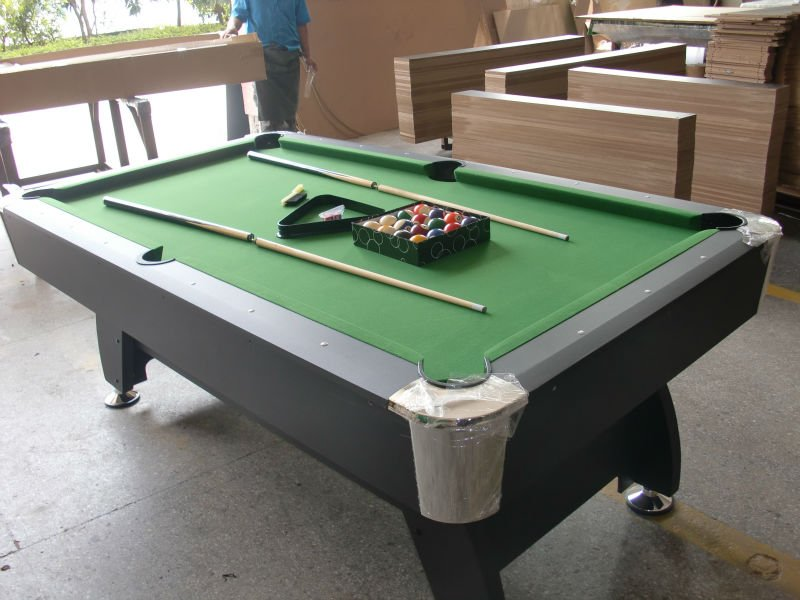 Mdf table de billard table de billard tables de snooker billard id de - Table de billard transformable en table de salle a manger ...