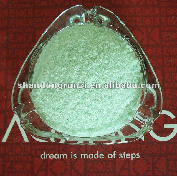Ferrous sulphate moss killer