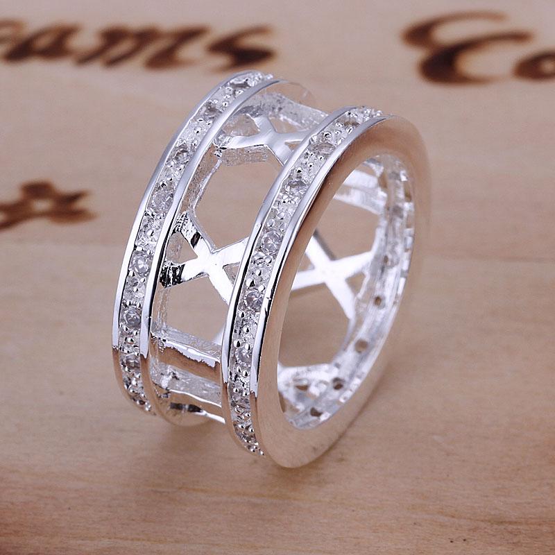 Модные серебряные кольца 2017