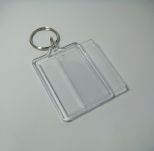 Wholesale Bigger Blank Acrylic Rectangle Photo Keychains Insert ... 35e276091345