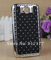 Чехол для для мобильных телефонов Deluxe Reinestone Bling Chrome Hard Case Cover For HTC Sensation XL X315E G21