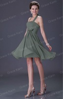 Коктейльное платье 2013 1pc/lot JK Stunning Halter Prom Eevening Night Party Dress 6 color available CL2290