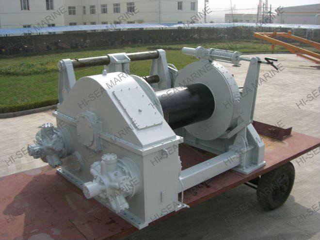 Marine HydraulicTowing winch