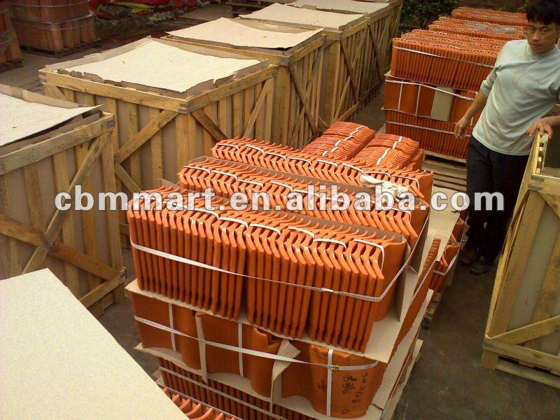 European Style Waterproof Red Clay Roofing Tile Buy