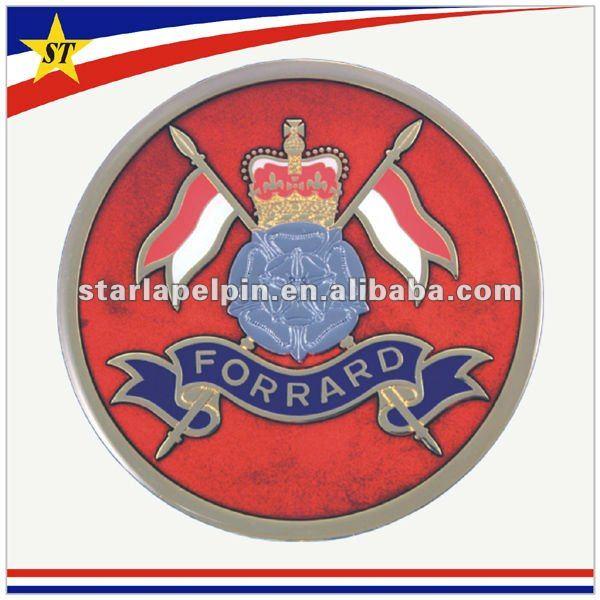 2012 Promotional metal emblems for car