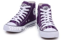 Женские кеды Department of candy-colored high-top with a couple shoes female models hand-painted canvas shoes, shoes can be increased