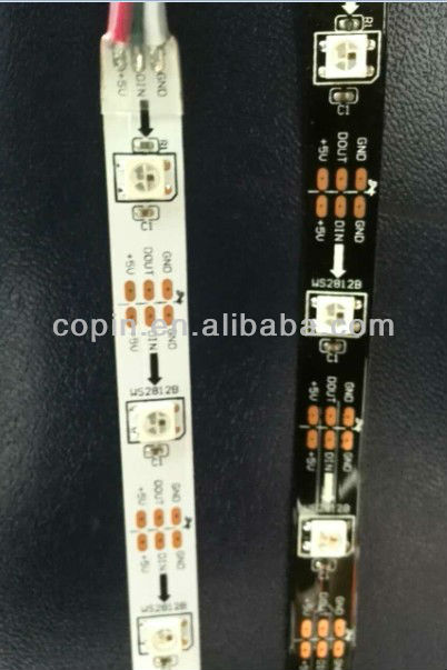 pixel led strip WS2812B,smd5050, DC12V, addressable,IP20