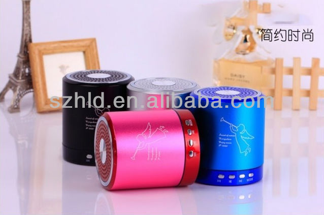 T-2020 Portable fm radio speaker for mobile phone