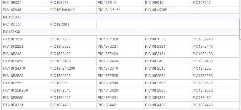 PIC MPLAB ICD2 USB+RS232