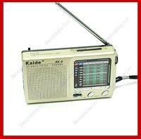 Портативный радиоприемник Kaide kk/9 TV FM AM sw1/7 17308