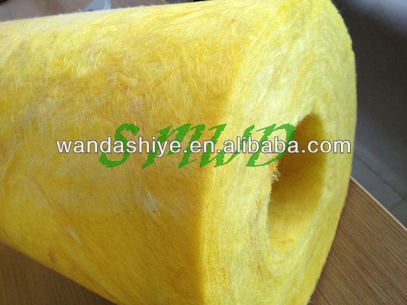 Low Density Fiberglass Wool Insulation Pipe To Export Arab
