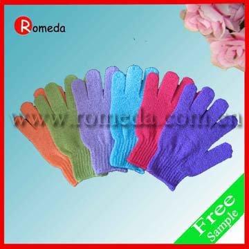 2015 the newest fashion exfoliating bath gloves