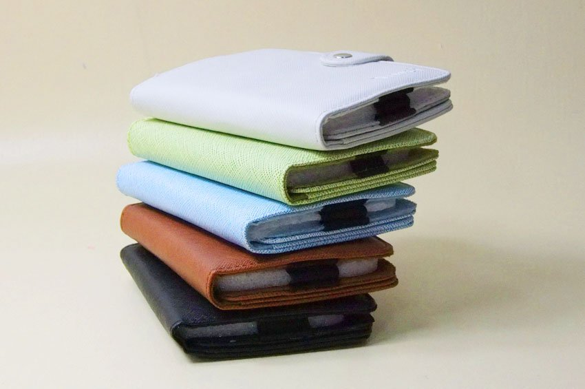 Leather case for 2.5'' HD/ HDD, MP4/ MP5 bags case, Free shipping