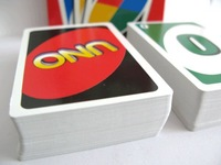 Free Shipping 5pcs _ UNO Card Game Playing Card Family Fun _2 to 10 players_Family Game Toys