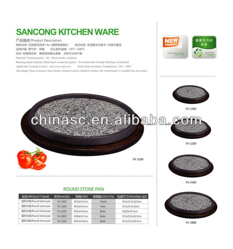 Natural Granite practical baking beef tray