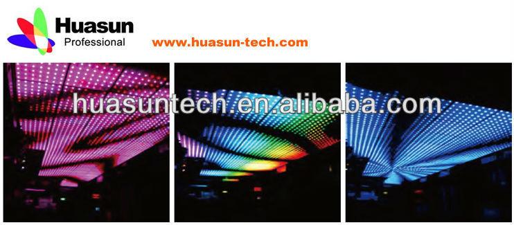 Flexible LED Dots/ LED Strip for Building Decoration Architecture Facade Building Decoration