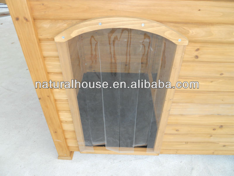 Item no.DH7 Classic and flat roof Wooden Dog Kennel