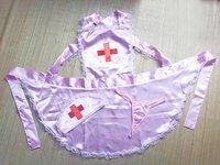 Женский эротический костюм Fast deliver! Sexy underwear! Racy lingerie game uniforms nurse nurse outfit apron 8054