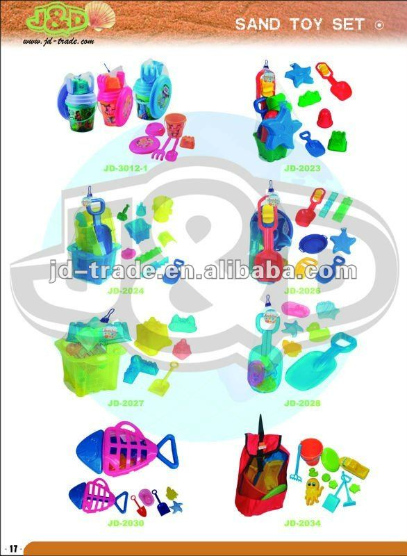 14.5x8.9x12.5CM Plastic Beach Buckets and Spades with Promotions