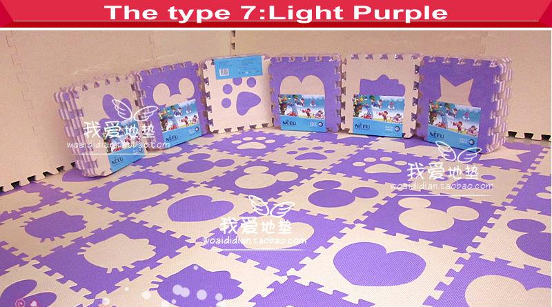 Soft floor tiles for babies