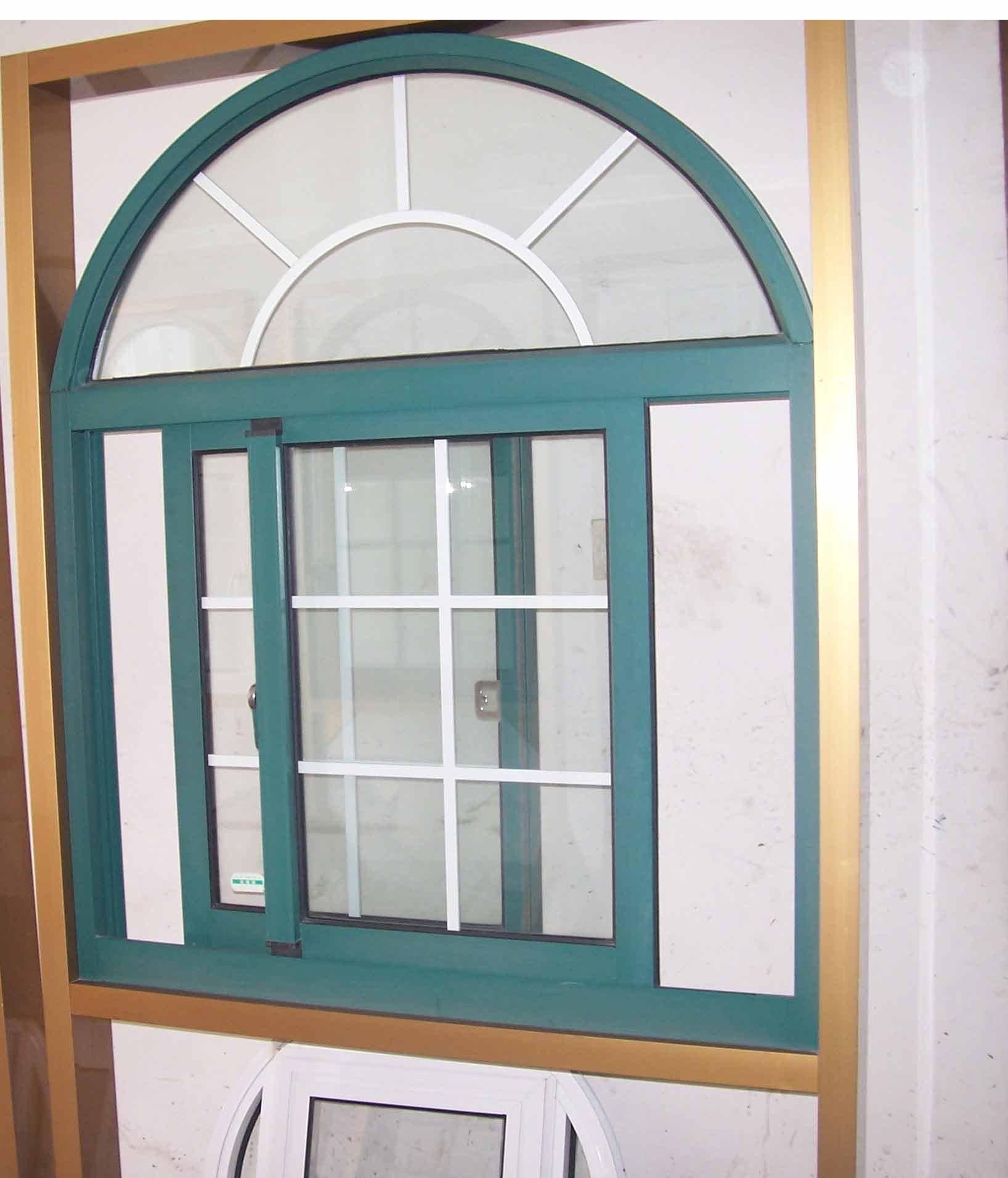 #966E35 Wanjia arco de alumínio janela WJ AS 02 Janelas ID do produto  624 Janelas Madeira Arco