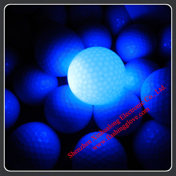 LED Light Golf Balls for Night Sports Professional Manufactuer