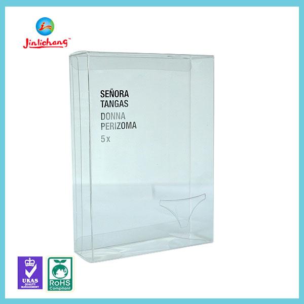 custom transparent hard pvc folding small clear plastic box.jpg