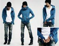 2012 hoodies jackets for men,men's casual jacket hedging Slim Hooded sweater M L XL XXL XXXL,free shipping,B441