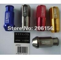 D1 LIGHT WEIGHT WHEEL RACING LUG NUTS P:1.5, :52mm (20pcs/set)Bule/red/blcack/golden/silver/purple/gray/Bronzer/green