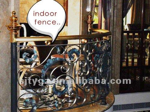 Classic style luxury wrought iron gate