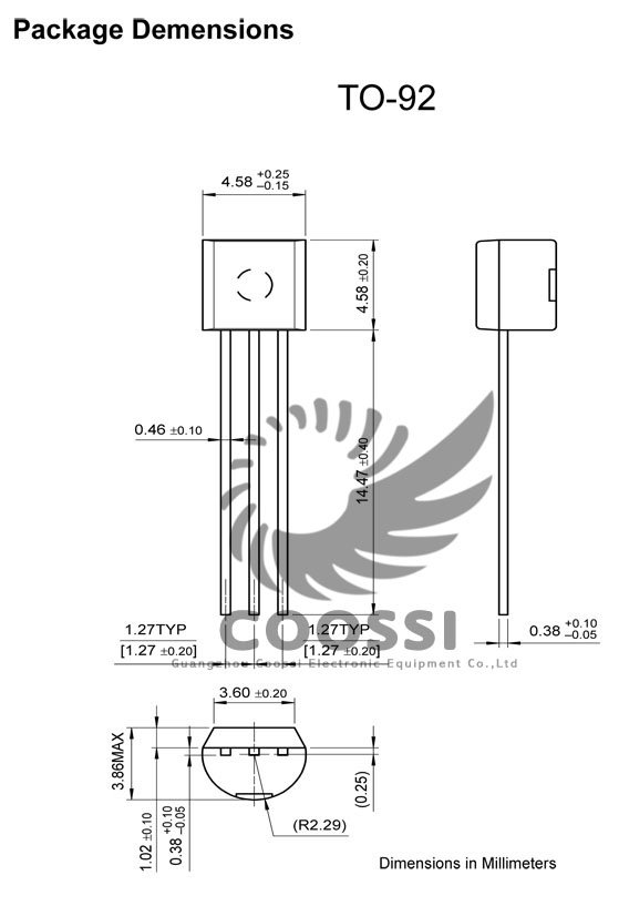 Bipolar Transistor Transistors S8550 D331 PNP TO-92 [EF36 ...