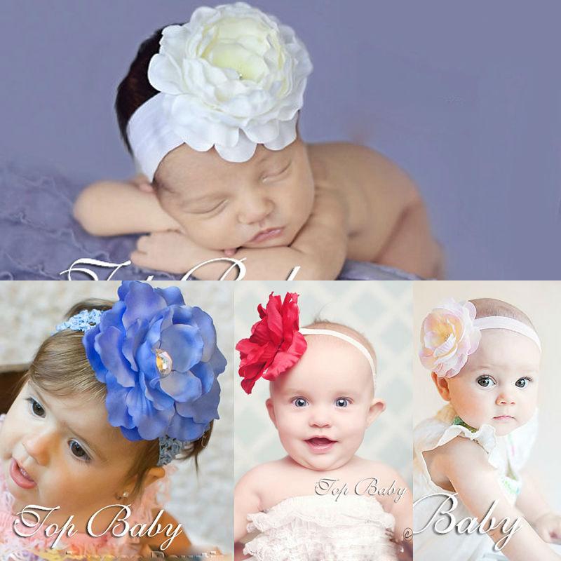 2013 topbaby flor del pelo del bebé accesorio cintas para el pelo para niñas headwear moda
