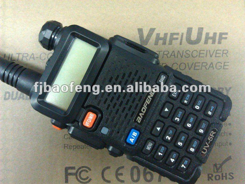 Hot selling dual band ham radio dealers best walkie talkie BAOFENG UV-5R ...