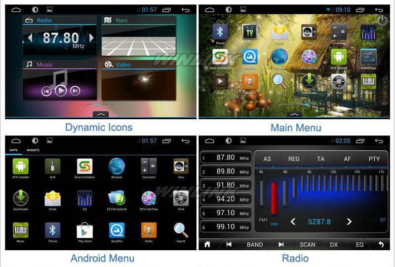Автомобильная Мультимедиа Андроид 4.1