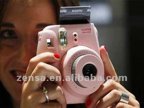 fuji instax mini cam ra 8 polaroid rose fujifilm appareil. Black Bedroom Furniture Sets. Home Design Ideas