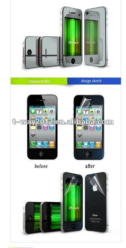 laptop mirror screen protector/mirror screen protector roll material