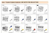 Комплектующие к инструментам Die Sets for AM-10 Pneumatic Crimping Tools and EM-6B1/2 Electrical Crimping Tools
