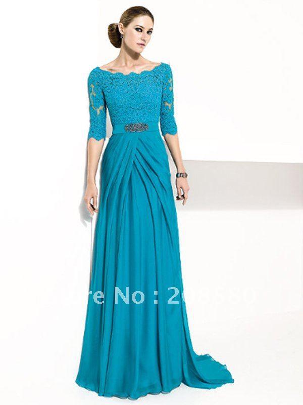Вечернее Платье С Рукавом Купить
