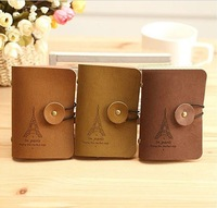 Визитница fashion Kroea velour leather tower style bank credit Card team holder bag case membership card bag NO. AQ001
