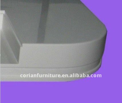 100% Acrylic solid surface corian bench top