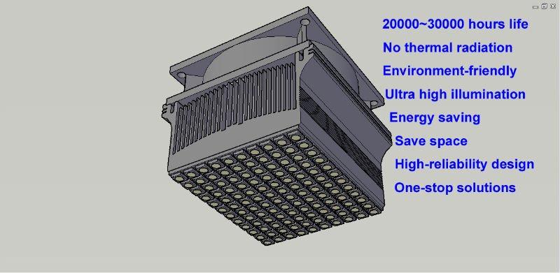 Uv sistema de secagem / LED UV sistema de secagem / lâmpada UV de secagem 540 watt
