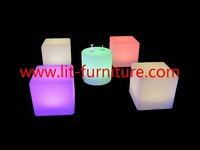 NEW furniture bar furniture Plastic LED illuminated cube furniture