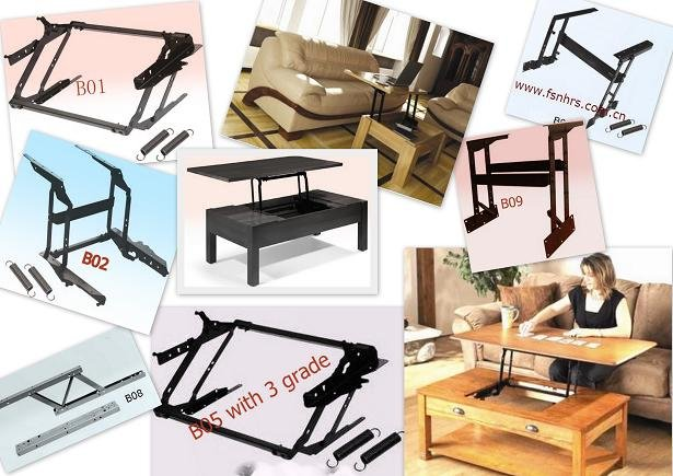 2014 Hot sale Adjustable Table Parts B09