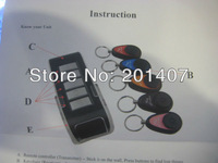 Wireless Alarm Electric Key Finder Locator 5 Receiver Up to 25M Whosale  for free shipping cost