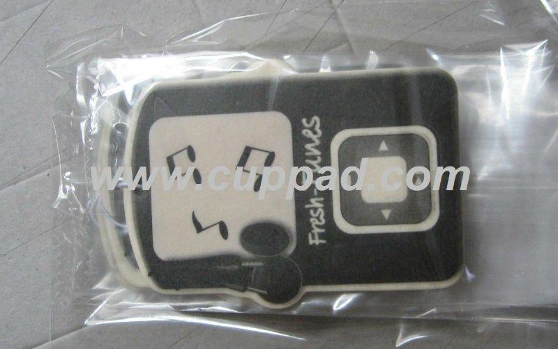 scented card, auto perfume, auto air freshener (B-076)