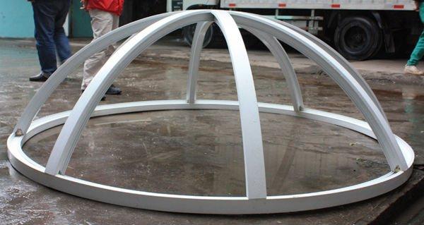 Luhaitian fixed arc round skylight pvc window buy for Fenetre ronde pvc